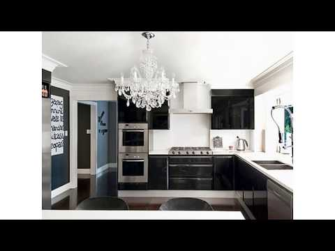 Schwarz weiß küche ideen
