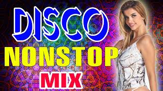 Nonstop Disco Songs 80 90 Legends - Best Eurodance Megamix - Mega Disco Party Remix