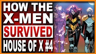House Of X #5   How The X Men Live Again & Why Xavier ALWAYS Wears Cerebro!