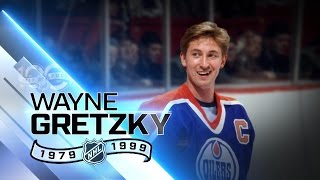 Wayne Gretzky all time leader in goals, points