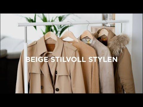 Trendfarbe BEIGE - So findest Du den richtigen Ton + STYLING TIPPS | Das weiße Reh