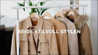 Trendfarbe BEIGE - So findest Du den richtigen Ton + STYLING TIPPS   Das weiße Reh