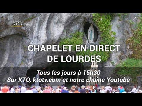 Chapelet du 18 octobre 2020 à Lourdes