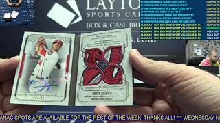 The Sports Card Almanac: High End Multi Sport Volume Three – 3 Box Case Break #2