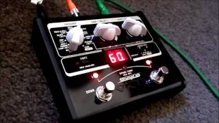 VOX Stomplab 1G. A Diminutive But Great Sounding Multi Effects Unit.