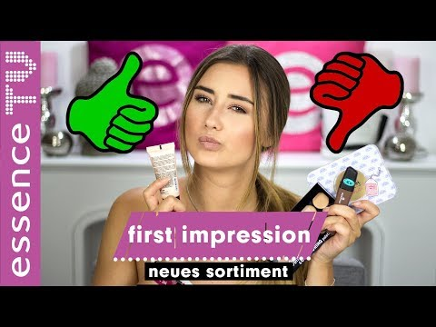 full face first impression deutsch - das NEUE essence sortiment getestet  im live test