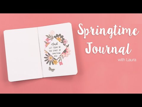 Spring Time Journal - Sizzix