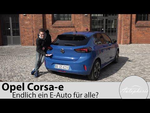 """2020 Opel Corsa-e """"First Edition"""" Test / Ist das jetzt ein Elektroauto für die Massen? - Autophorie"""