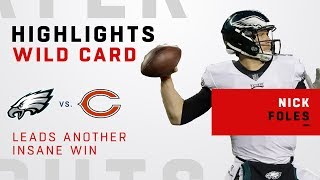 Nick Foles' Cold Blooded Performance in Chicago!