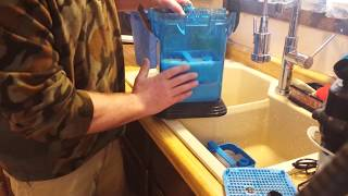 Cascade Canister Aquarium Filter Set up #5    (Loading the filter)