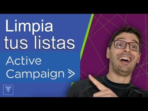 [ActiveCampaign] Cómo limpiar tus listas de contactos inactivos