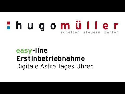 easy line - Die neue Astro-Tagesuhr der easy-line [müller SC18.13easy / paladin 170413easy]