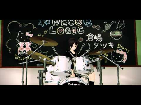 【猫村いろはオリジナル】 青春狂想曲 【MMD-PV】