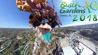 360º Coasters at Busch Gardens, Tampa FL (2018)
