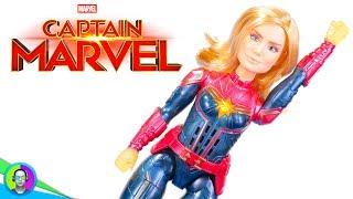 """""""PHOTON POWER FX CAPTAIN MARVEL"""" Figure Review   Captain Marvel Movie"""