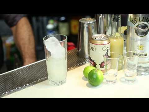 Video A Drink Made With Ginger Beer & Vodka : Drink Up!