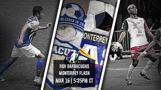 RGV Barracudas vs Monterrey Flash