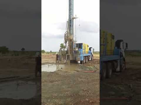 High Capacity Water Well Drilling Rigs Only Mounting