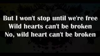 P!nk - Wild hearts can't be broken [Lyrics]