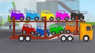 Развивающий мультик про автовоз и машинки. Цвета и цифры для детей. Доктор Машинкова