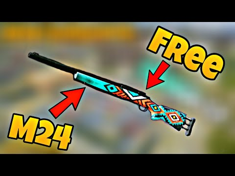 How To Get Free Gun Skins In Pubg Mobile ! New Trick To Get Free Gun