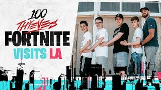 THE PERKS OF JOINING 100 THIEVES FORTNITE