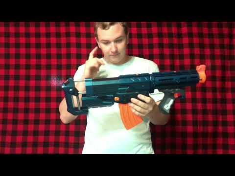Nerf Bullpup Retaliator - Upgrade and Repair - смотреть