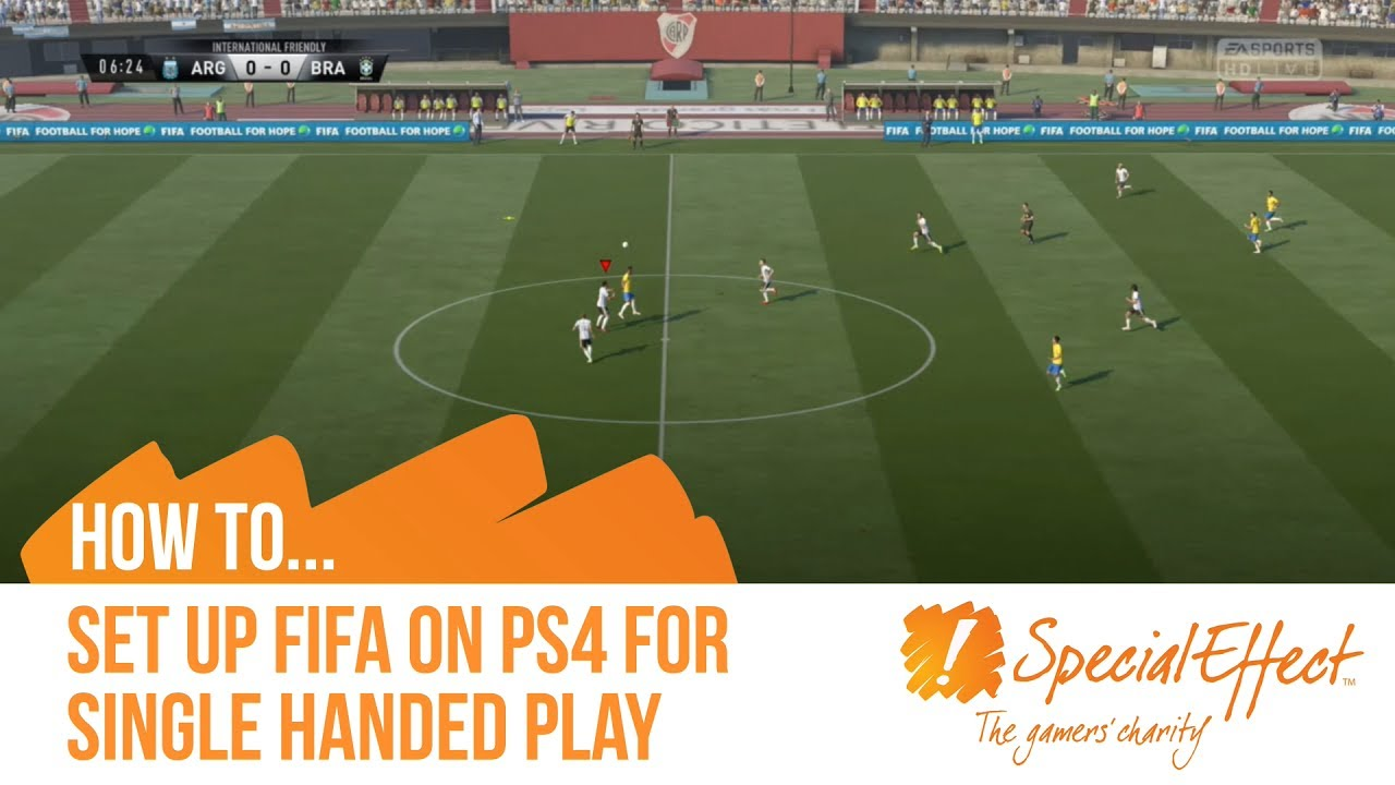 video placeholder for Single Handed PS4 FIFA Setup | How to... Video
