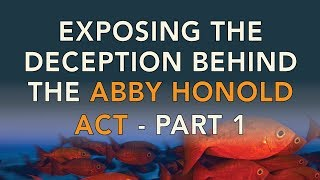 Exposing the Deception Behind the Abby Honold Act - Part 1