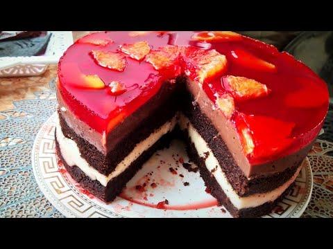 Вкусный и простой торт/ Утром приготовила и к вечеру его уже скушали