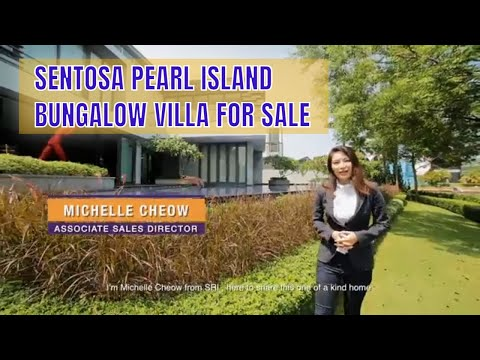 Singapore Landed Property Listing Video - Sentosa Pearl Island Villa For Sale