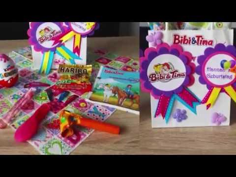 DIY - Bibi & Tina  - Mitgebsel-Tüte für Kindergeburtstag - Kinderschminken in Berlin