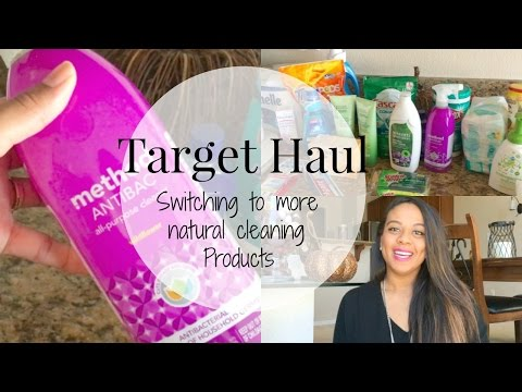 Target haul | Natural + non-toxic cleaning products