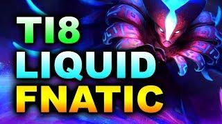 LIQUID vs FNATIC - FIRST MATCH! - THE INTERNATIONAL 8 #TI8 DOTA 2