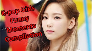 Kpop Girls Funny Moments Compilation