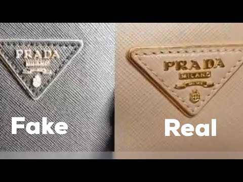 How to spot fake prada bag (authenticate )