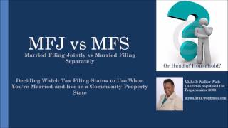 Marriage and Taxes - To File Together or Separately