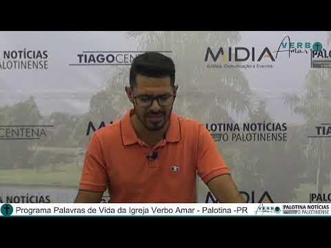 Programa Palavras de Vida com Pastor Cleiton Martins 20/04/21