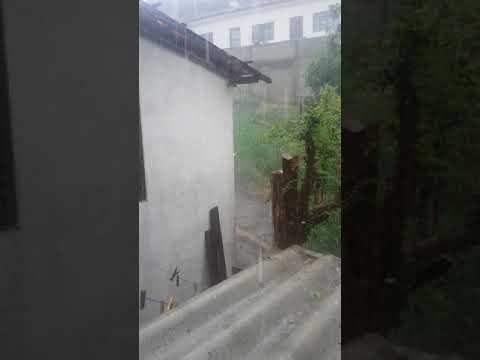 Chuva em Amparo S. P dia 18/12/2017