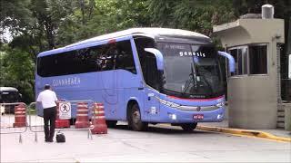 Ônibus saindo rodoviária Tietê#75 - Especial feriadão 15/11 - Noite