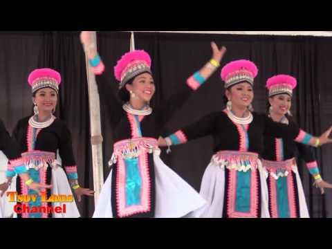 Dance Group Dancing At Hmong Wausau Festival July, 2017