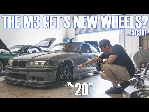 MY NEW WHEELS! (BMW E36 M3)