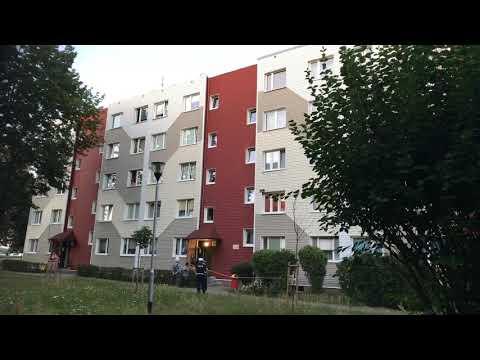 Wideo: Alarm bombowy przy Mickiewicza w Lubinie