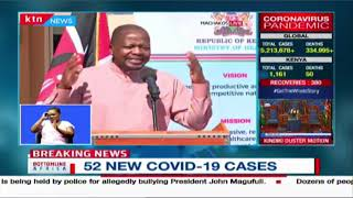 CS Kagwe: What we have seen in Machakos we could not have seen if it was being managed from Nairobi
