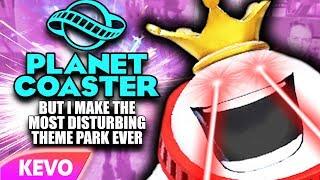 Planet Coaster but I make the most disturbing theme park ever