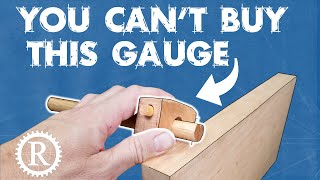 Make your own marking gauge for FREE!