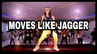 ZUMBA MAROON 5 - MERENGUE REMIX - MOVES LIKE JAGGER - KARINA ROCHA LIVE CLASS