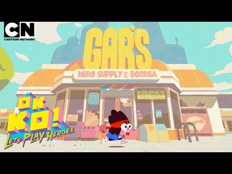 OK K.O.! Let's Play Heroes | NOW AVAILABLE! | Cartoon Network thumbnail