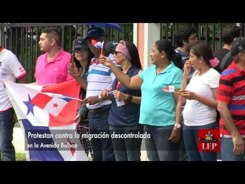 Protestan contra la migración descontrolada