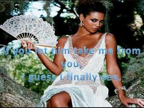 Beyonce - If (lyrics)